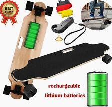 Elektro Skateboard E-board Elektrisches 250W Longboard 20km/h bis 130kg Schwarz