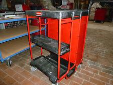Rubbermaid Werzeugwagen Werkstattwagen Leiterwagen Hausmeisterwagen