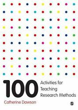 100 Activities for Teaching Research Methods