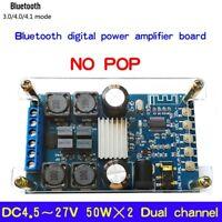 50Wx2 Bluetooth 4.1 Digital Amplifier Audio Power Board Module Dual Channel GL