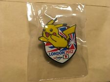2012 LONDON OLYMPIC MEDIA PIN BADGE JAPANESE TV TOKYO PIKACHU ORIGINAL PINS