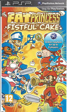 FAT PRINCESS FISTFUL OF CAKE for PSP (demo)