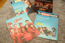 GLEE 4 Emmy ads club in graduation outfits, Jane Lynch, Matthew Morrison, Cory