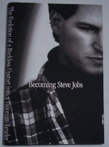 BECOMING STEVEN JOBS By Brent Schlender & Rick Tetzeli HARD COVER Book Biography