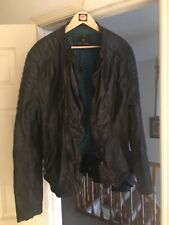 scotch soda leather jacket