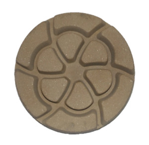 "3"" Inch Semi Metal 50 Grit Diamond Polishing Pad for Concrete Floors WET AND DRY"