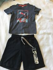 Pumu Boys Summer Clothes Shorts And T-shirt. Would Fit 5-6 Years.