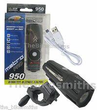 Cygolite Metro Pro 950 Lumens USB Bike Front Head Light 9 Mode IMPROVED 850