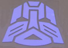 Transformers Autobots Logo Símbolo De Plata Pegatina de Coche Calcomanía de casco de juego Etiqueta