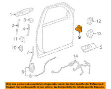 GM OEM Rear Door-Lock Striker 20951578