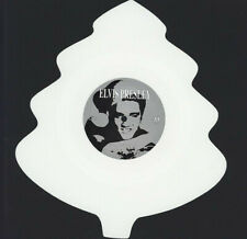 "Elvis Presley – Blue Christmas on Tree Shaped White Vinyl 7"" Mischief 2013"