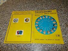 ALBUM CALCIATORI IMPERIA 1969 1970 ORIGINALE COMPLETO(-7 SCUDETTI) MB/OTTIMO