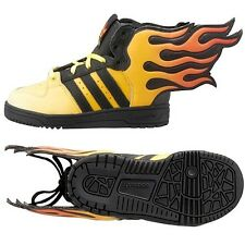 NEW Adidas Originals Jeremy Scott JS Flames I Kids Shoes - Size 4K - D65987