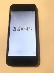 Apple iPhone 5 - 32 Go - Noir & Ardoise (Désimlocké)
