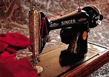 Superb Quality A4 Glossy Print, Singer Sewing Machine, Vintage Wall Decor