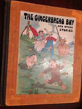 Gingerbread Boy, Peter Rabbit, 3 Little Kittens, Watty Piper 1927 Eualie illustr