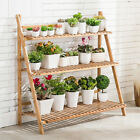 UNHO Professional Plant Stand Supplier Multi Tier Flower Rack for Indoor Outdoor