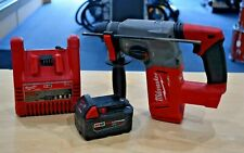 "Milwaukee 2712-22 18V Li-Ion 1"" SDS Rotary Hammer Kit Free Shipping"