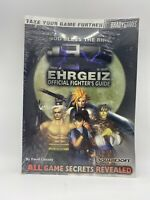 Ehrgeiz Playstation PS1 Brady Games Official Strategy Guide Brand New Sealed