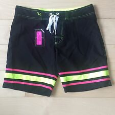NEW Mens AC Andrew Christian SWIM Suit SURF Trunk Size 30 Polyester New