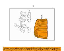 TOYOTA OEM Land Cruiser Taillight Tail Light Lamp-Lens & Housing Left 8156160490