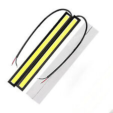 Car Daytime Running Lights DRL COB LED Strips Bright Fog Light Waterproof 2pcs