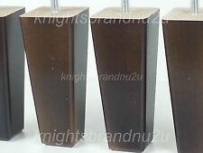 4x Meuble en bois pieds de remplacement de jambes pour canapés fauteuils armoires et lits M8