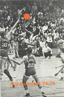 1974-75 APPALACHIAN STATE MOUNTAINEERS BASKETBALL MEDIA GUIDE (PRESS MARAVICH