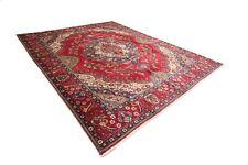 Magnifico Tappeto Persiano Tabriz 378 x 304 Orientteppich Alto Condizioni No. 79