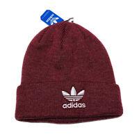 Adidas Original Fold Beanie Men Team Issue Burgundy Warm Climawarm Knit Winter