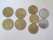 Vtg Old Uruguay Coin Lg Lot Set 1990s Collection Un Dos Peso 1 2 50 Centesimos