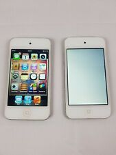 Faulty Apple iPod Touch 4th Generation White (8 GB) X 2 Spares or Repair