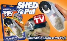 Battery Operated Cordless Shed Pal Pet Grooming Vacuum