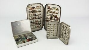 NICE SELECTION OF VINTAGE FLY TINS ETC