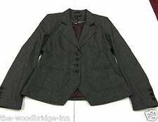 NEXT SIZE 16 BLACK / GREY LADIES LINED JACKET 6N