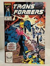 Transformers #59 (1989) 7.0 FN/VF Furman/Delbo - Marvel Comics