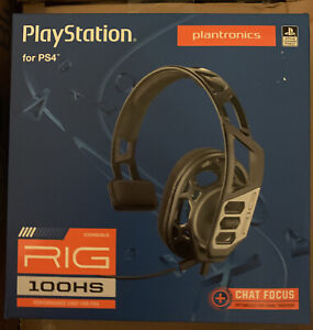 Plantronics Rig 100Hs Gaming Headset for PlayStation4, New Never Opened
