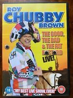 Roy Chubby Marrone DVD Buono The Bad And The Grasso B Live Commedia Stand Up