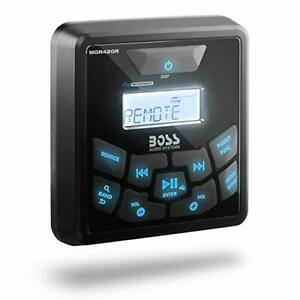 BOSS Audio Systems MGR420R Marine Wired Remote Control – Weatherproof Bluetoo...