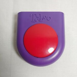 2000 TABOO Purple Replacement Game Buzzer