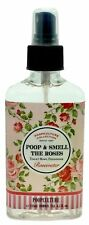 Poopculture Poop and Smell the Roses Rosewater Toilet Bowl Freshener Spray