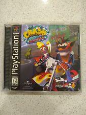 Crash Bandicoot: Warped | PlayStation 1 | 1998 | Cd, Case, and Manual