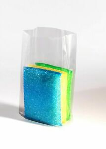 6X3X12 - 2 Mil Clear Gusseted Poly Bags (1,000 Bags) - New