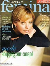 French magazine 2007: CHARLIZE THERON
