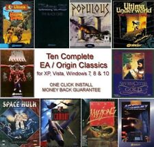 ULTIMA SAVAGE EMPIRE, POPULOUS II +8 MORE +1Clk Windows 10 8 7 Vista XP Install