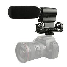 NA-Q7 Shotgun DV DSLR Video Camera Microphone Interview Stereo Mic Professional