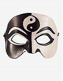 Venezianische Masken Zen Ledermaske - In Venedig Handgemacht!