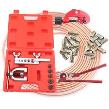 "Copper Brake Pipe Line Repair Kit Pipe End Flarer Cutter Bender 3/16"""
