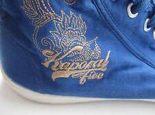 basket toile montante KAPORAL taille pointure 39 couleur bleu vif