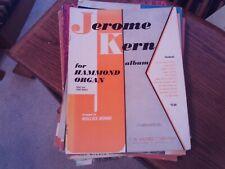 arr. Wallace Behnke: Jeronme Kern Album, Organ, Hammond Registrations (Harms)